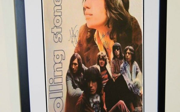 #2 Rolling Stones Signed Poster