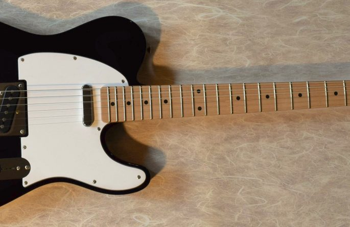 Rush Genuine Black Fender Telecaster