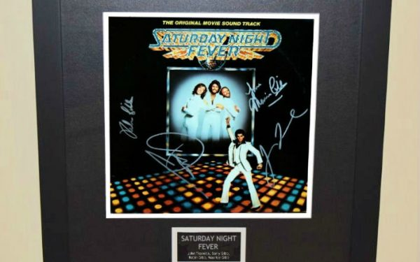 Saturday Night Fever Signed Original Soundtrack