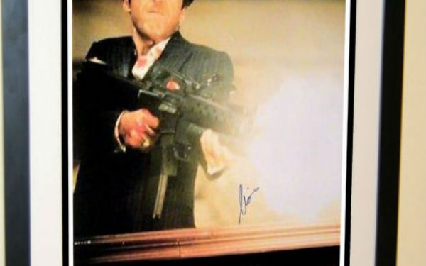 #3 Scarface Signed Movie Poster