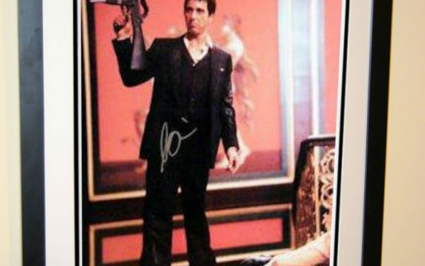 #2 Scarface Signed Movie Poster