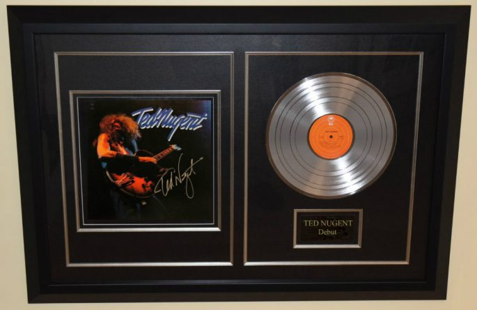 Ted Nugent – Debut Release