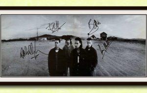 Framed Signed Posters