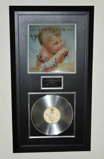 Van Halen, 1984, David Lee Roth, Edward Van Halen, Alex ...