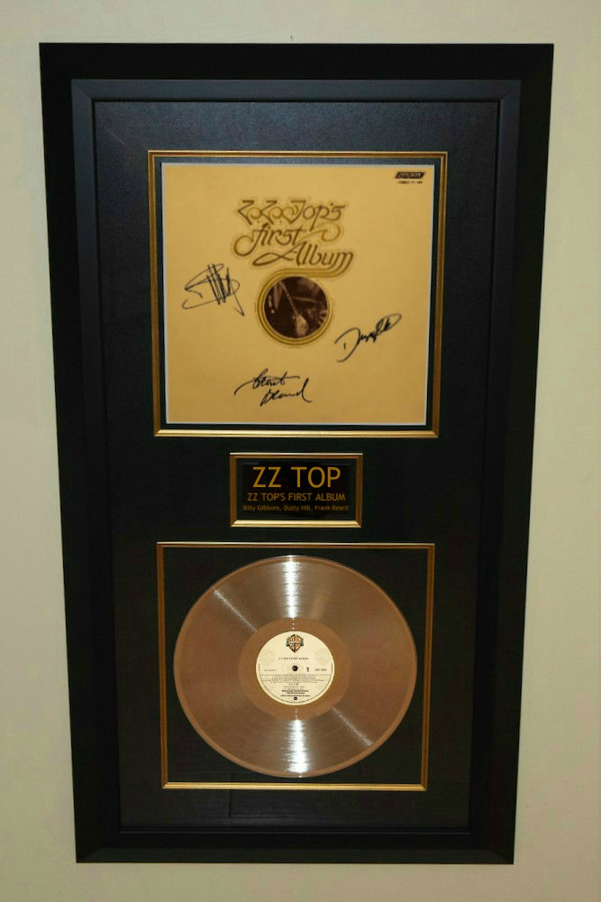 ZZ Top's First Album, Billy Gibbons, Dusty Hill, Frank ...