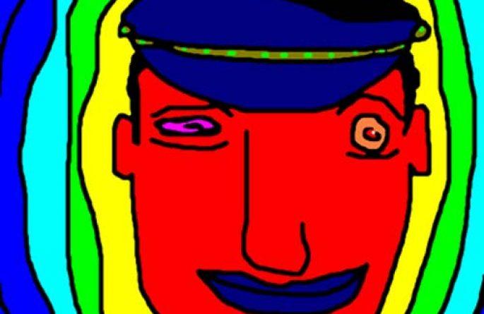 Man In Blue Hat