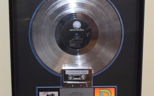 Aerosmith RIAA Award For Pump