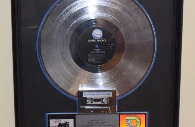 Aerosmith RIAA Award For Pump