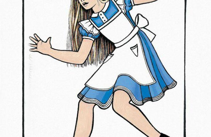 Alice At Mirror