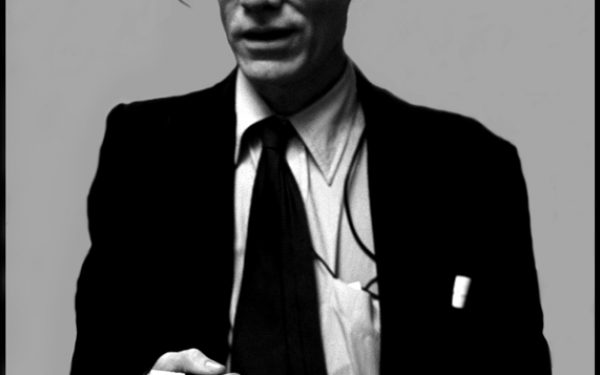 B&W Andy Warhol