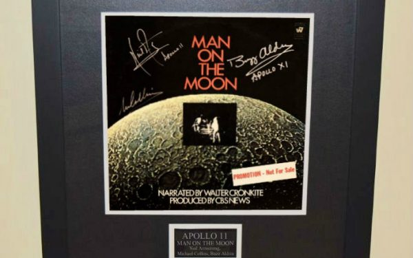 Man On The Moon Apollo 11 Signed Soundtrack