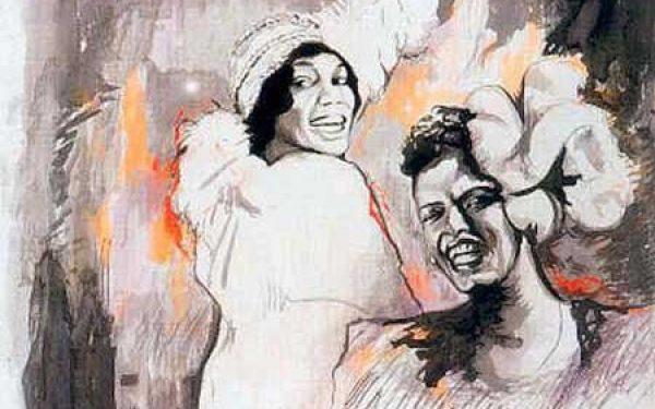 Billie Holiday and Bessie Smith