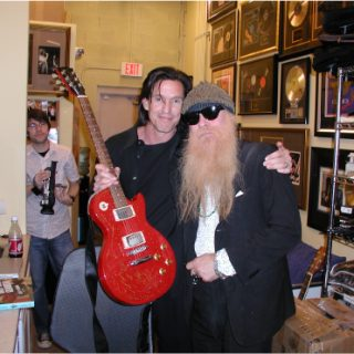 Billy Gibbons of ZZ Top at ROCK STAR gallery