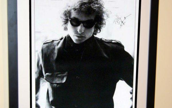 #1 Bob Dylan Signed Poster