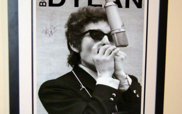 #2 Bob Dylan Signed Poster