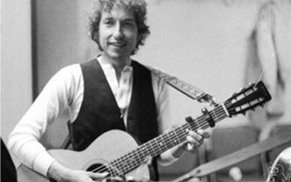 Bob Dylan Backstage, Friends of Chile Benefit Felt Forum, NYC, 1974