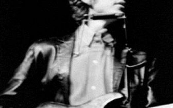 B&W Bob Dylan Live, Newport Folk Festival, Newport, RI, 1965