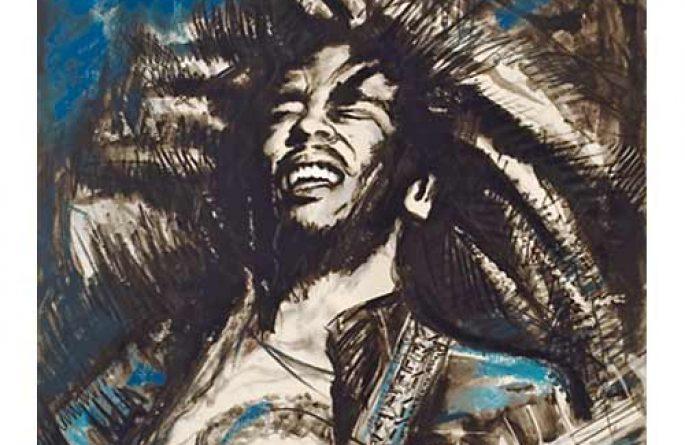 Bob Marley Blue