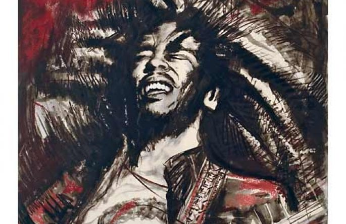 Bob Marley Red