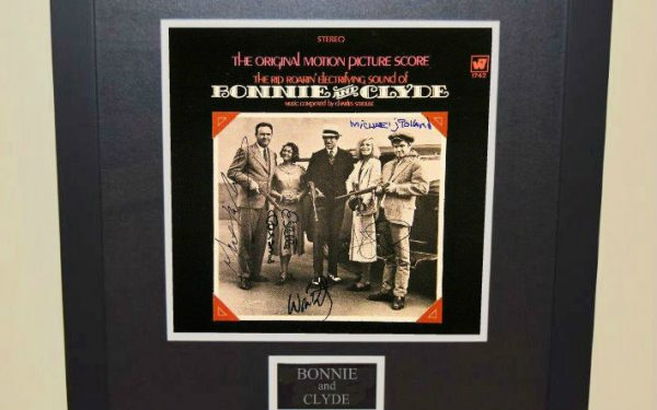 Bonnie & Clyde Signed Original Soundtrack