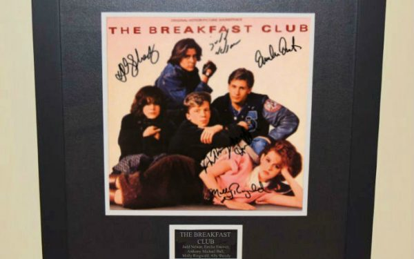 The Breakfast Club Signed Original Soundtrack