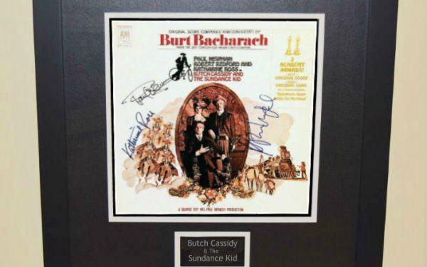 Butch Cassidy & The Sundance Kid Signed Original Soundtrack