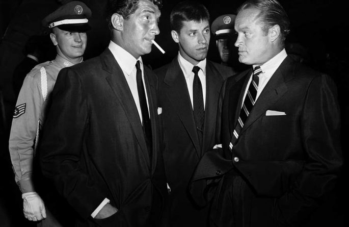 Dean Martin, Jerry Lewis & Bob Hope