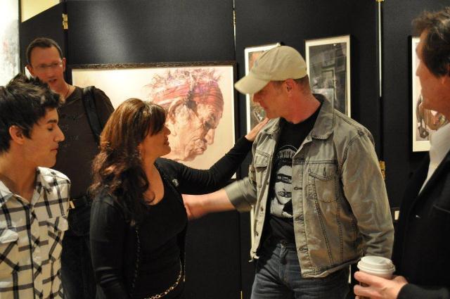 Sebastian Kruger Art Exhibition 2010 Rock Star