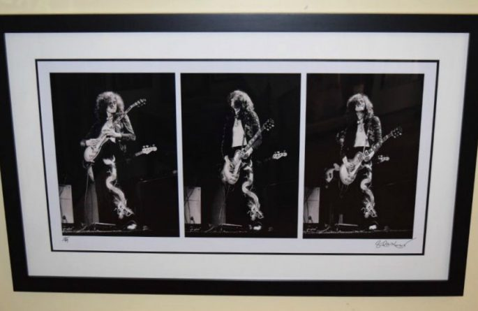 Jimmy Page Triptych