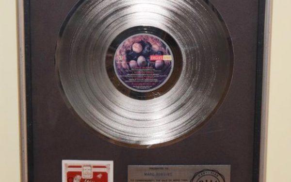 Eagles RIAA Award for Eagles Live