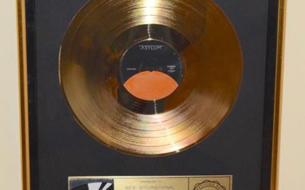 Eagles RIAA Award for Greatest Hits Volume 2
