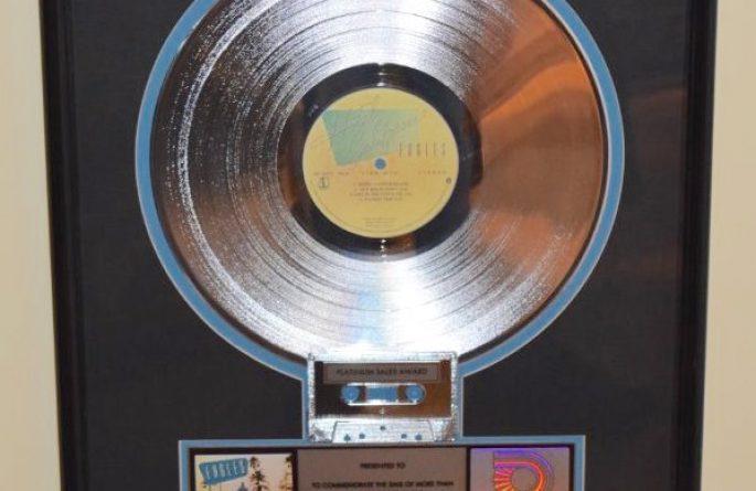 Eagles RIAA Award For Hotel California