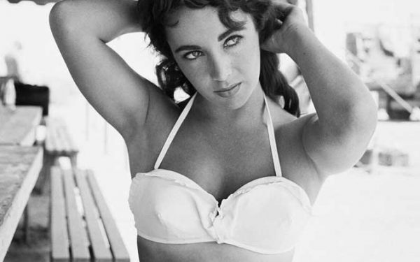 Elizabeth Taylor Hands Behind Head