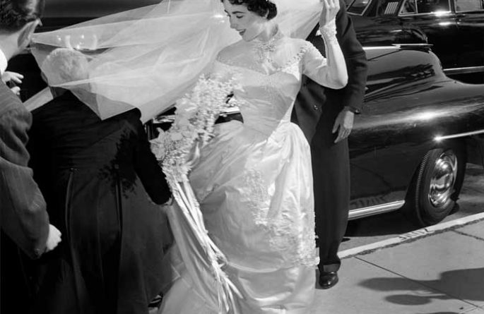 Elizabeth Taylor Wedding Day
