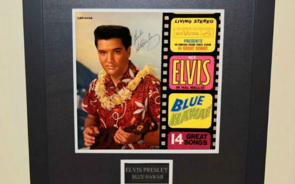 Blue Hawaii Signed Original Soundtrack