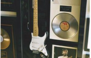 Signed Guitar Displays