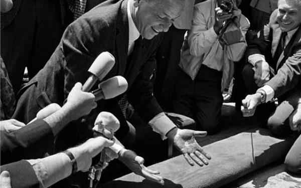 Frank Sinatra Hands In Cement