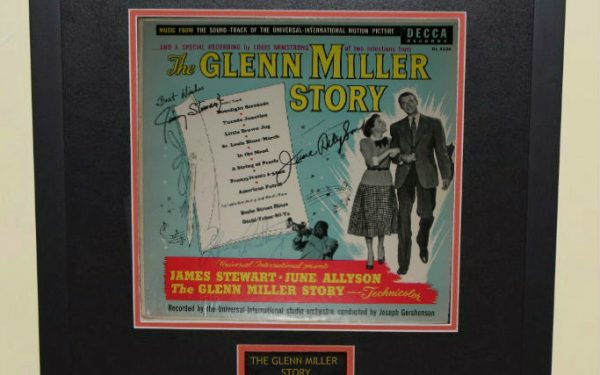The Glenn Miller Story Signed Original Soundtrack