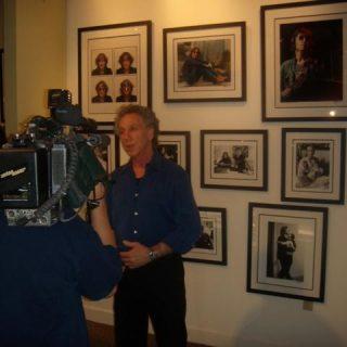 Bob Gruen at ROCK STAR gallery