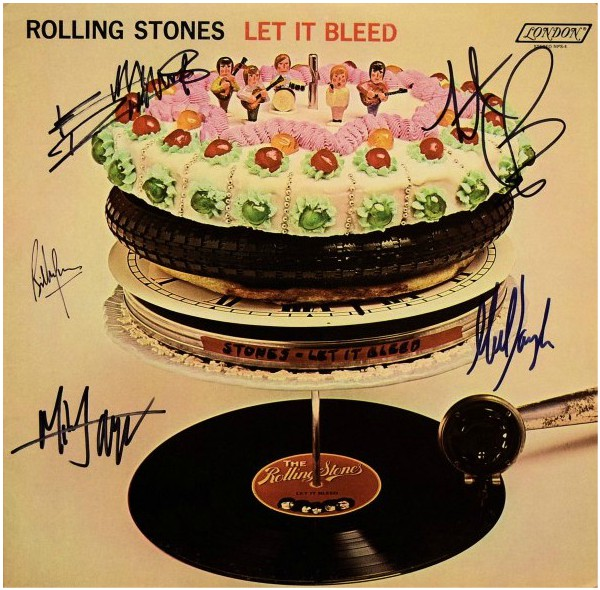 Rolling Stones Let It Bleed Mick Jagger Keith Richards