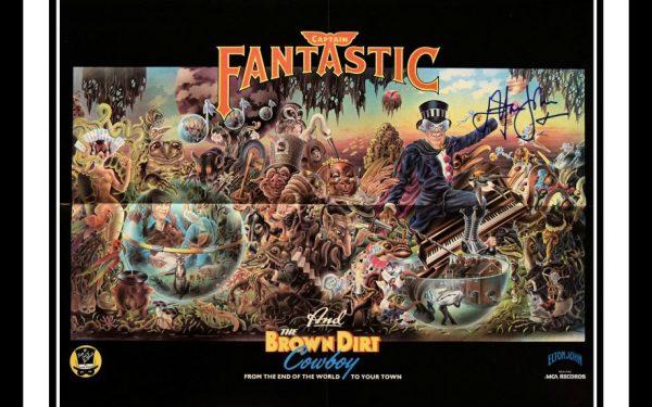 Elton John Signed Poster