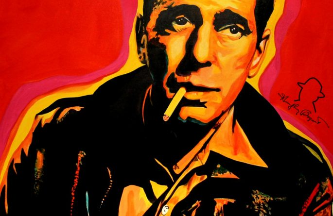 A Few Drinks Behind, Humphrey Bogart