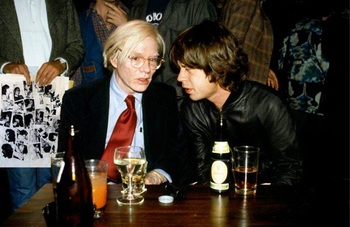 Warhol & Jagger