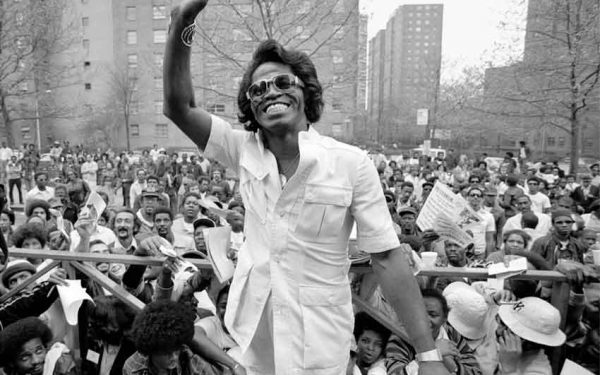 James Brown in Harlem