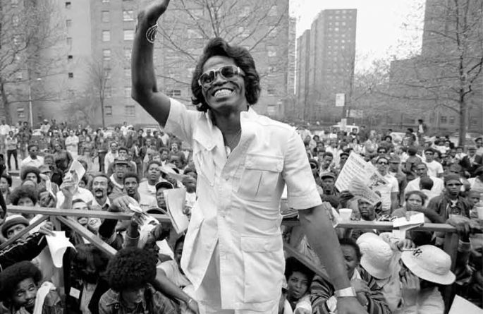 James Brown in Harlem