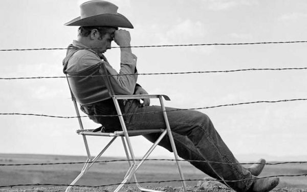 James Dean, Behind Fence