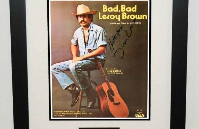 Jim Croce – Bad, Bad Leroy Brown