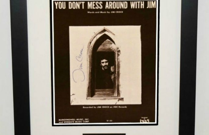 Jim Croce – You Don't Mess around With Jim