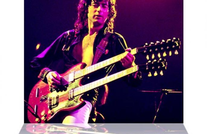 Jimmy Page Color Seattle