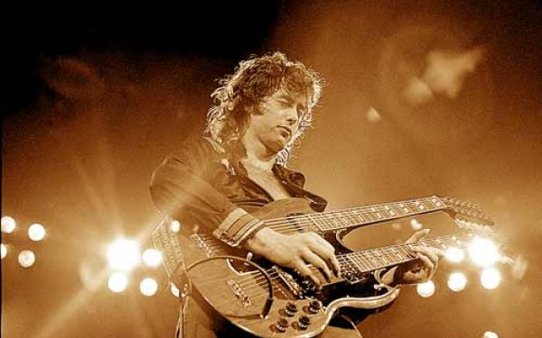 Jimmy Page Double Neck II